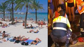 V mallorském letovisku Playa de Palma migrant pobodal dva Němce.