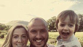 Rachael s rodinou