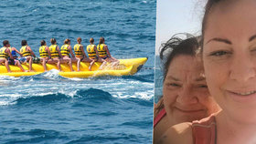 Dcera popsala smrt své matky na banánu v Egyptě: Matka se jí utopila před očima, v nemocnici jí nechtěli dát čas na rozloučenou
