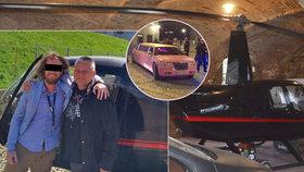 Pilotoval plzeňský vrtulník smrti a jezdil po Karlově moste limuzínou. Kdo byl Kajínkův kamarád Bohumil D.?