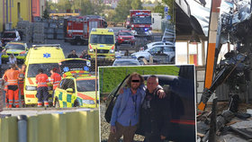 Na výrobní halu v Plzni se zřítil vrtulník.