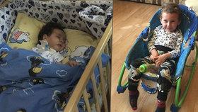 Patrik (5) a Davídek (6 měsíců) bojují o život. Pomoct by jim mohl lék z Ameriky.