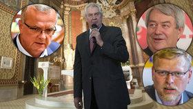 Miloš Zeman se přidal k zastáncům zdanění církevních restitucí. To se snaží prosadit komunisté. Lidovci i TOP 09 mluví o protiústavní hanebnosti.