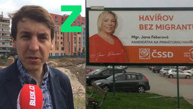 Zatímco Zelení se nebrání přijmout do Prahy 5 tisíc migrantů, kandidátka ČSSD je v Havířově nechce.