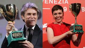 Benátský filmový festival: Nejlepším hercem Willem Dafoe, nejlepší herečkou Olivia Colemanová