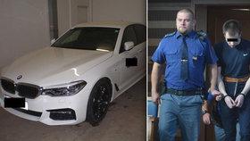 Málem zabil autem policajta a teď u soudu vykládá, že si spletl brzdu s plynem! Tak dětinskou obhajobu před až výjimečným trestem zvolil Litevec Vitalijus Č. (20).
