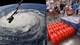 Takhle se Američané chystali na hurikán.