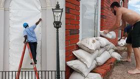 Američané se připravují na příchod hurikánu Florence.