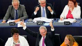 Zpravodaj směrnice o copyrightu Axel Voss (EPP) se raduje, že v parlamentu uspěl