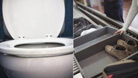 Na letištních přepravkách je více bakterií než na záchodovém prkénku (ilustrační foto)