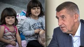 Babiš odmítá přijmout syrské děti