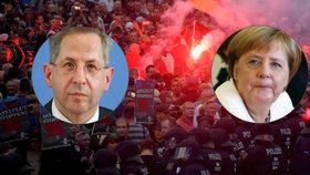 Německá kancléřka Merkelová je podle tisku rozhodnutá, Maassen v čele kontrarozvědky končí.