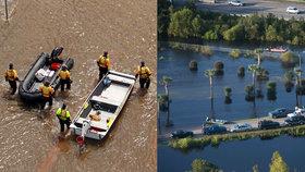 Hurikán Florence s sebou přinesl ničivé záplavy (18.09.2018).