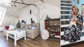 Luxusní bydlení Slováčkové: Táta Felix jí koupil byt za 7 milionů