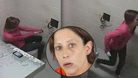 Amber Gonzales utekla z vězení.