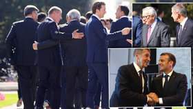 Český premiér Andrej Babiš (ANO) na summitu v Salcburku v družné společnosti Emmanuela Macrona nebo Jean-Claudea Junckera