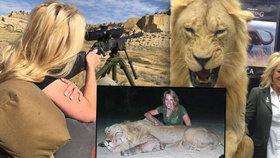 Vášnivá lovkyně (41) obhajuje lov exotických zvířat: Můj koníček je legální! Lovci pomáhají zachovat divokou přírodu