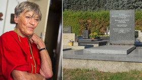 Potupa pro zesnulou Lubu Skořepovou (†93): Nedůstojný hrob ještě dva roky po smrti!