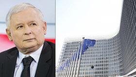 Evropská komise (EK) žaluje Polsko u unijního soudu kvůli přijetí zákona o polském Nejvyšším soudu, který podle komise porušuje zásadu nezávislosti soudnictví (24.9.2018).
