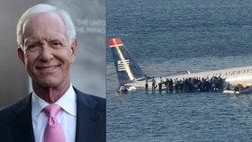 Varování pro Federální letecký úřad přišlo od legendárního Sully, který přistál na řece Hudson.