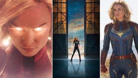 Kapitán Marvel přijde již brzy do kin.