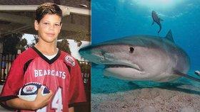 Chlapce napadl při lovení humrů žralok.