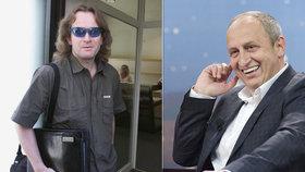 Moderátor Jan Kraus se směje nominaci Petra Štěpánka do RRTV.