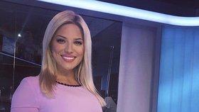 Sexy moderátorka Eva Perkausová