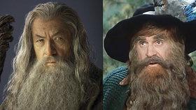 Krakonoš byl inspirací pro Tolkienova čaroděje Gandalfa, tvrdí polský historik Lukasz Kozak (4. 10. 2018).