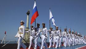 Ruští vojáci na Krymu.
