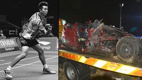 Tragická nehoda u Brna: V sešrotovaném autě zemřel člen (†24) badmintonové reprezentace.