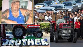 Extravagantní pohřeb »romského krále«: Na poslední rozloučení se sjelo přes 300 hostů, nechyběla obří květinová výzdoba a 12 limuzín!
