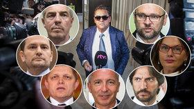 Kočnerovi vlivní přátelé: Sulík, Beňová, Kaliňák, Mika, Fico, Matovič. Setkání s Bugárem prý bylo náhodné.
