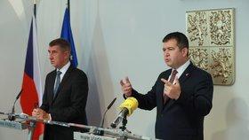 ONLINE: Babiš promluví o synovi, ČSSD podpoří rozpuštění Sněmovny