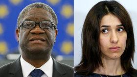 Nobelovu cenu míru dostal lékař Mukwege a jezídka Muradová.