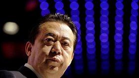 Prezident Interpolu Meng Chung-wej
