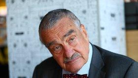 Karel Schwarzenberg (80) během nedávného rozhovoru