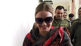 Pašeračka Tereza: K soudu přišla s nalakovanými nehty a úsměvem na rtech!