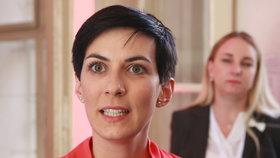 Volby 2018, TOP 09: Místopředsedkyně strany Markéta Pekarová-Adamová ve volebním štábu