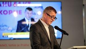 Andrej Babiš nebude sledovat sčítání hlasů z druhého kola senátních voleb v ČR. ANO neotevře ani volební štáb.