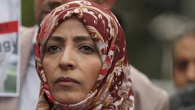Chášakdžího osud zajímá i jemenskou političku a nositelku Nobelovy ceny míru Tawakkul Karmánovou.