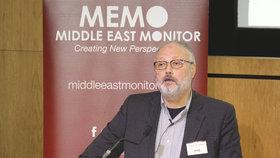 Saúdskoarabský opoziční novinář Džamál Chášakdží