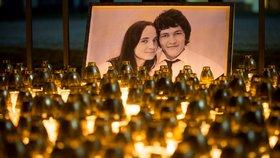 Ján Kuciaka a jeho snoubenka Martina Kušnírová byli zavražděni v únoru.
