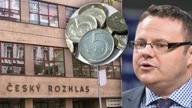 Ředitel ČRo René Zavoral by chtěl, aby rozhlasový poplatek vzrostl o pět korun.