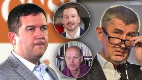 Deset otázek voleb pohledem politologů. Co se dozvěděli Jan Hamáček (ČSSD, vlevo) a Andrej Babiš (ANO)?