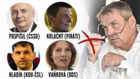 ODS, Piráti, lidovci a socialisté se v Brně spikli proti ANO. Nyní prozradili priority svého vládnutí.