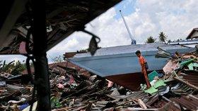 Indonésii zasáhlo za uplynulý rok zemětřesení už několikrát. (archivní foto)