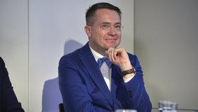 Prezident České stomatologické komory a moderátor Roman Šmucler