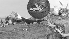 Jeden pilot byl opilý, druhý nezkušený: Problémy s motorem a posádka zavinila smrt 13 lidí u Ptic