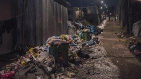 Uprchlický tábor Moria na řeckém ostrově Lesbos se potýká s velkým znečištěním.